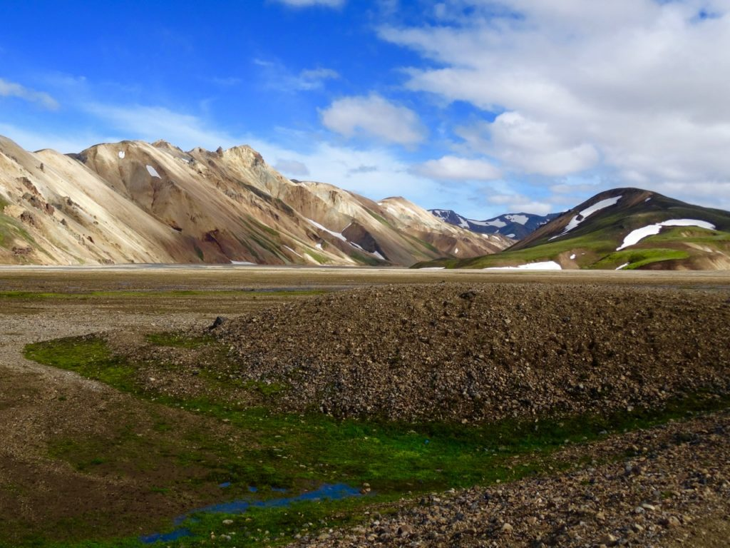 Colorful Liparit mountains in Landmannalaugar. 26.07.2016